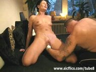Preview 5 of Extreme Amateur Brutally Fist Fucked In Her Huge Pussy