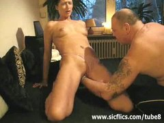 Preview 4 of Extreme Amateur Brutally Fist Fucked In Her Huge Pussy