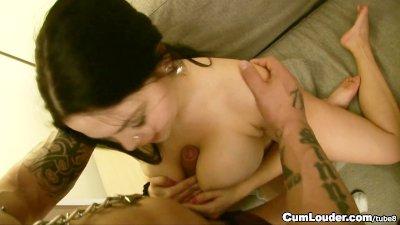 Shione Cooper huge boobs, incredible slut