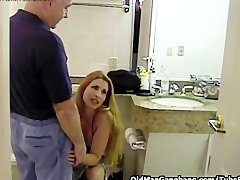 Preview 8 of Old Men Double Fuck Sexy Gal