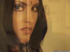 Preview 2 of Brunette Bolly Dancer From Desi