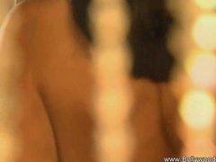 Preview 3 of Brunette Bolly Dancer From Desi