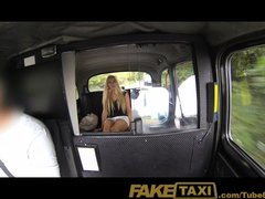 Preview 2 of Faketaxi Super Hot Blonde Tourist With Big Tits Pays Her Way