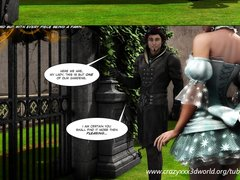 Preview 1 of 3d Comic. Legacy. Episodes 2-3