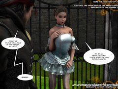 Preview 2 of 3d Comic. Legacy. Episodes 2-3