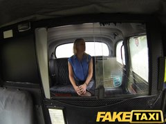 Preview 6 of Faketaxi Blonde Fucked Hard Twice In One Day