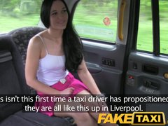 Preview 3 of Faketaxi Naughty Liverpool Girl Gets Dirty