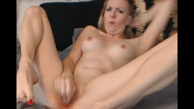 Cute Blonde Babe Intense Orgasm