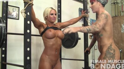 Dani and Brandimae Girl Girl in the Gym