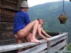 Preview 5 of Cute German Needs Extreme Mountain Sex