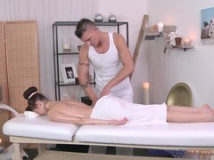 Preview 6 of Massage Rooms Petit Ballerina Has Her Little Hole Stretched