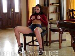 Preview 3 of Trembling Orgasm For 18 Yr Old Aidra Fox