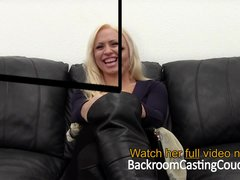 Preview 3 of Big Tit Milf Creampie On Casting Couch