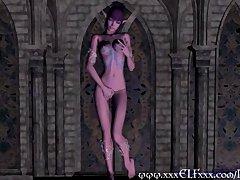Preview 4 of Hentai Elf Porn Magical Masturbation Fantasy