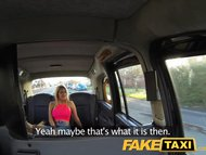 Preview 1 of Faketaxi Stunning Blonde With Perfect Tits