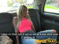 Preview 2 of Faketaxi Stunning Blonde With Perfect Tits