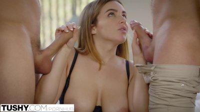 TUSHY First Double Penetration For Natasha Nice