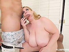 Preview 8 of Busty Bbw Milf Tiffany Blake Loves Dark Dick