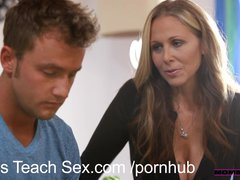 Preview 4 of Momsteachsex Young Couple Fucks Hot Older Mom