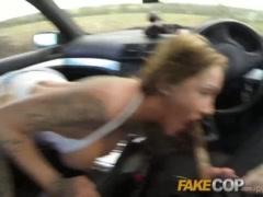 Preview 8 of Fake Cop Anal Slut Gets Cop Cum In Her Butt