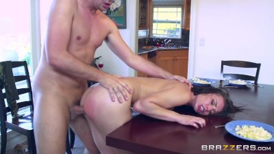 Naughty step daughter Aidra fox - Brazzers
