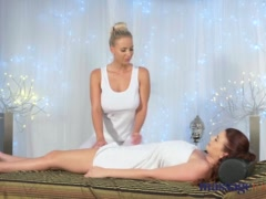 Preview 3 of Massage Rooms Hot 69 And Orgasms For Horny Young Big Boobs Lesbians