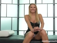 Preview 3 of Hot White Girl Fucks Her First Ebony Guy For Chance At A Job