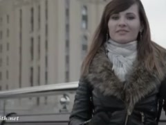 Preview 3 of Jeny Smith Seamless Pantyhose Public Upskirt