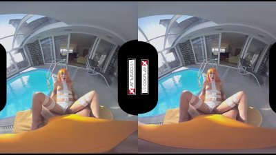 VR Porn Cosplay Step Sister 5th Element POV and 69 blowjob VR CosplayX