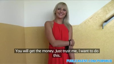 PublicAgent Slim blonde with perfect tits fucks a stranger