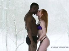 Preview 4 of Ella Hughes Prefers Interracial Action To...