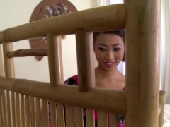 Preview 2 of Beautiful Asian Masseuse Sharon Lee Gets Holed Deep & Hard!