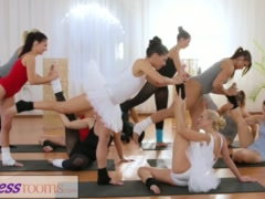 Preview 3 of Fitness Rooms Petite Ballet Teachers Secret Threesome